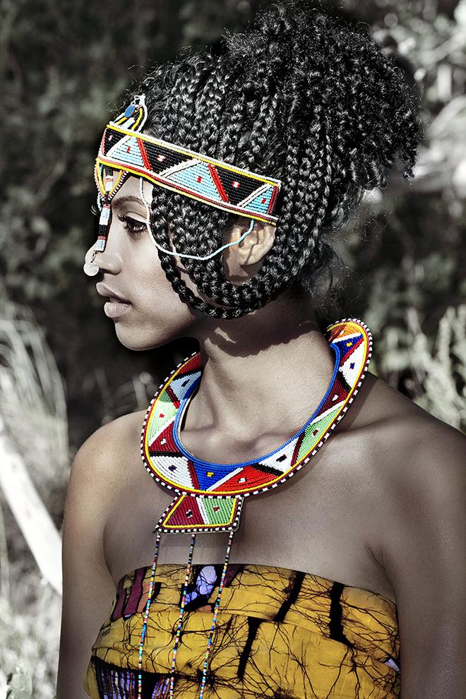Valerie Shamu - Masai Woman