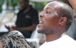 Hamilton Masakadza enjoying the Winky D concert at HIFA