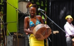 Hope Masike performing at HIFA, Zimbabwe