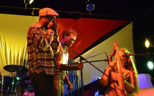 Aerosol featuring Sunniva Berg at the Shoko Hip Hop concert