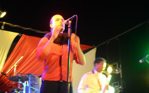 Dickson at the Shoko Hip Hop concert