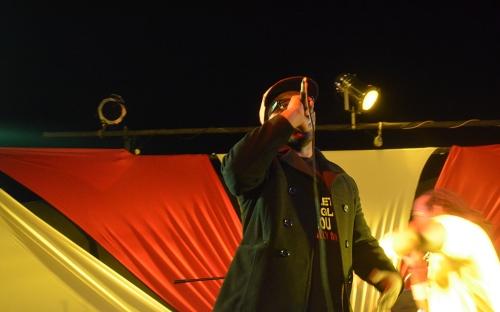mUnetsi at the Shoko Hip Hop concert