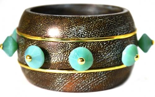 Hakata Harmony bracelet in brass
