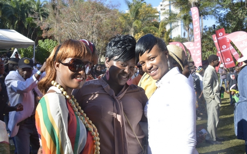 Divas at the Sulumani Chimbetu show