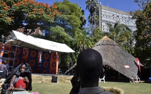 Crowne Plaza from the Simba Youth Zone