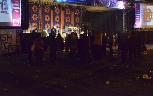 Telecel Mainstage at night