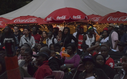 The Coca Cola Green crowd