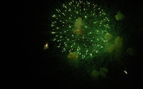 Fireworks at HIFA 2010