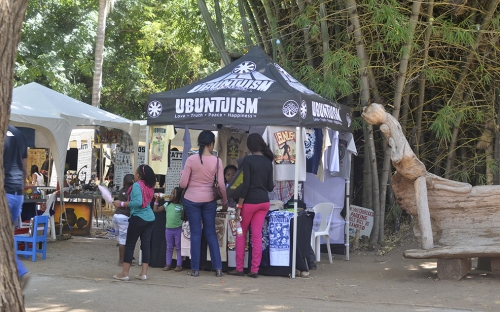 Ubuntuism clothing stall
