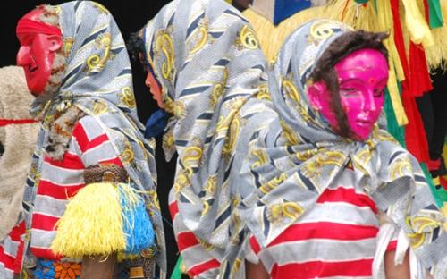 Gule Wamkulu/Nyau dancers