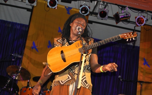 Habib Koité plays the guitar at HIFA