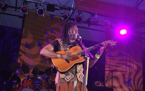 Habib Koité on stage at HIFA