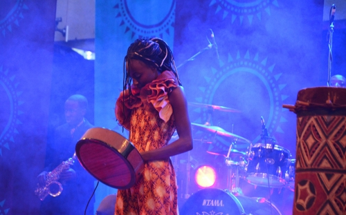 Hope Masike at HIFA