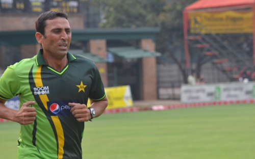 Younis Khan! My man of the series! Just because!