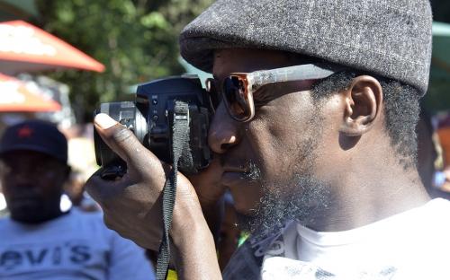 Robert machiri a graphic designer/musician in Johannesburg, Nikon