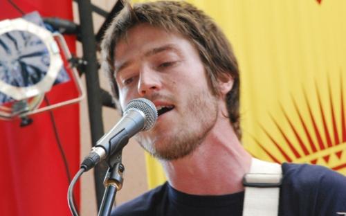Jacob Bain, lead singer of Publish the Quest