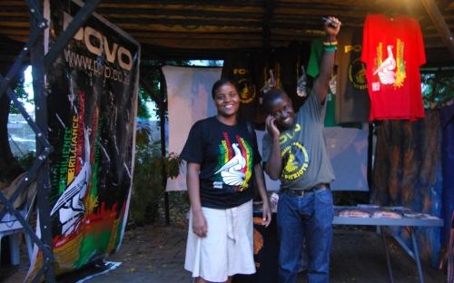 Pauline Goredema and Fambai Ngirande