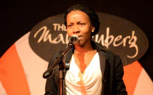 Mandisa Mabuthoe, Botswana at Shoko Poetry Slam Express