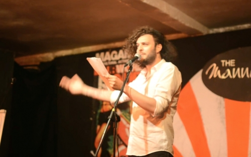 Mischael-Sarim, Germany at Shoko Poetry Slam Express
