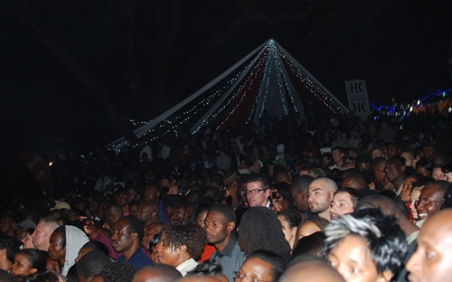 The audience at Salif Keita show