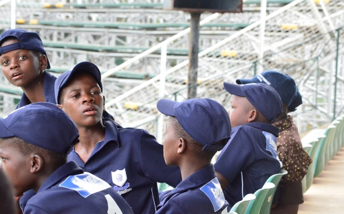 Some of the Chipembere school players