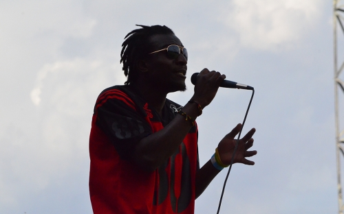 There was entertainment from a rapper who called himself Harare Hustler
