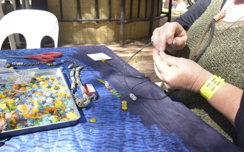 Bead making workshop