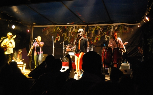 Willom Tight on stage at the Coca Cola Green at HIFA