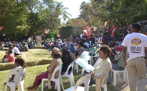 Audience at the Youth Zone