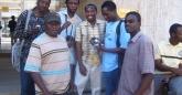 Artist, designers, illustrator, and film maker - Left to right: Masimba Hwati, Paul Maposa, Baynham Goredema, Ryan Chokureva, Langton Chari, Kennywell Satumba