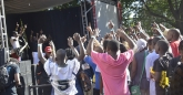 Crowd participation at the Sulumani Chimbetu show