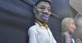 Giant puppets take a rest at HIFA