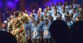 Pastor Chantel Wright and the HIFA Young People's Gospel Ensemble