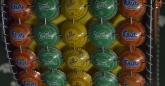 Detail of bottle top handbag