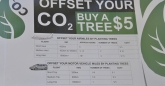 Offset your CO2 by buying a tree
