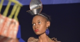 Models showcase clothes accessories from local Zimbabwean designers