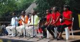 University of Zimbabwe students studying Chinese entertained singijg popular gospel songs in Mandarin