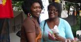 Edith We Utonga and Christine Ndoro