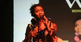 Kudzai Sevenzo sings her heart out at the Woman of Note concert, Harare, Zimbabwe