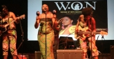 Fatima Katiji at the Woman of Note concert, Harare, Zimbabwe