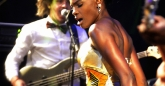 Shingai Shoniwa of the Noisettes doing her thing at HIFA