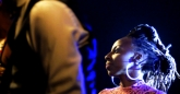 Hope Masike joins The Noisettes on stage at HIFA