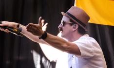 "Thomas ""Tom"" Lugo, lead singer of German band Jamaram"