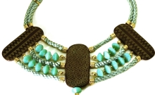 Hakata Harmony necklace in brass