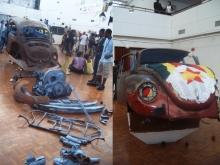 An installation by Masimba Hwati