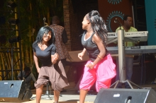 Dancers during the Edith We Utonga show