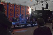 Netsayi on stage at HIFA
