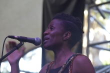 Netsayi on stage at HIFA