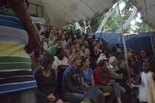 The audience at the Netsayi show