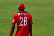 Chis Mpofu had a tough outing on the field and the fans were not helpful.